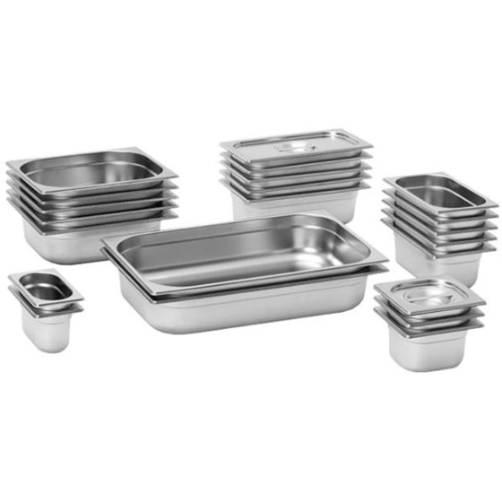 S/S Gastronorm Pans